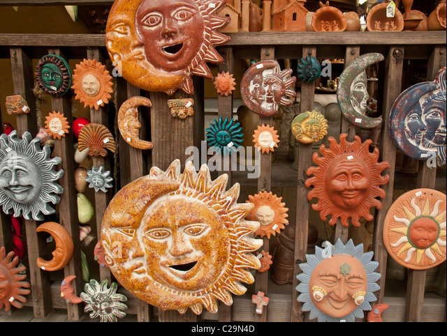 Pottery Sun Face Stock Photos Amp Pottery Sun Face Stock