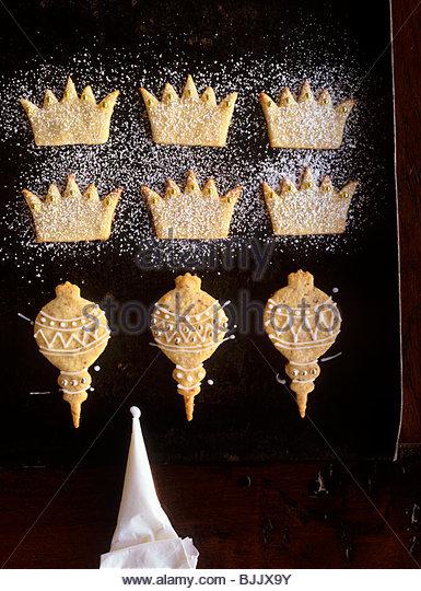 Crown christmas decoration stock photos crown christmas for Christmas crown decoration