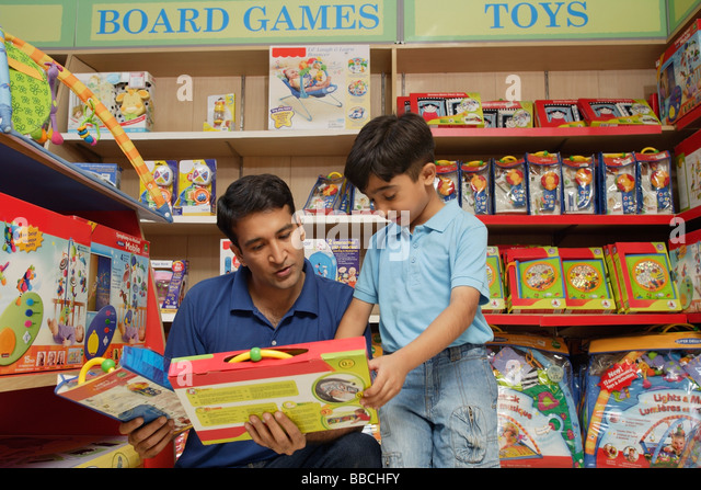 Boy Toys For Dads : Boys toys shop stock photos images
