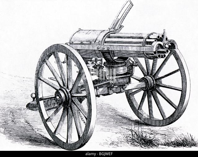 La fabuleuse histoire de la Gatling Gatling-machine-gun-1862-bgjwef
