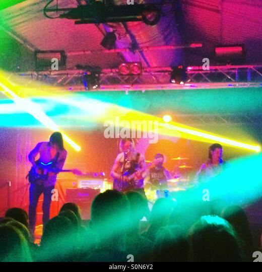 Rock band 'Coasts' performing at The Engine Rooms, Southampton ...