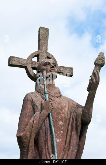Lindisfarne gospels stock photos