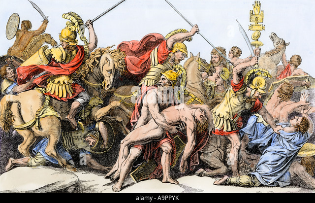 trojan compassion in the iliad and the aeneid Aeneid: aeneid, latin epic poem written from about 30 to 19 bce by the roman poet virgil composed in hexameters, about 60 lines of which were left unfinished at his death, the aeneid incorporates the various legends of aeneas and makes him the founder of roman greatness.