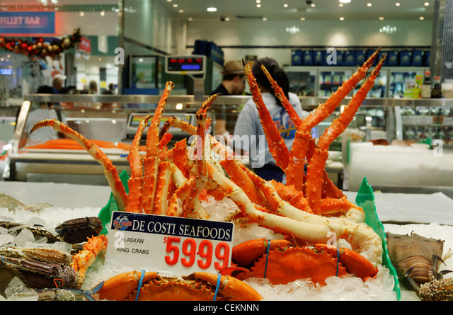 Alaska king crab stock photos alaska king crab stock for Kings fish market