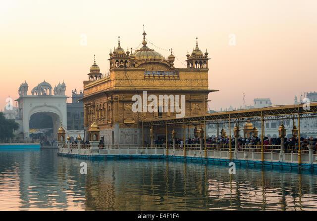 Golden Temple, the holiest Gurdwara of Sikhism, Amritsar, Punjab