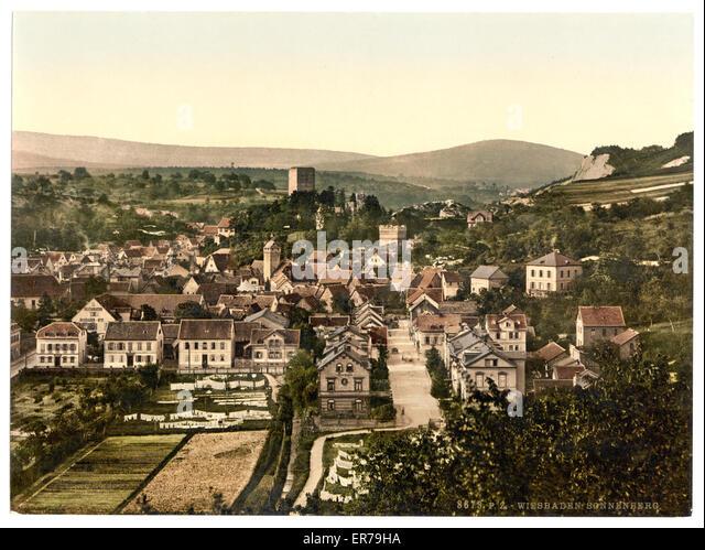 Sonnenberg Germany Stock Photo - Image: 69625585