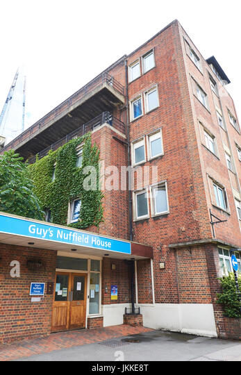 Guys Nuffield House A Clinic Part Of Guys And St Thomas Hospital, Newcomen Street, Southwark, London, UK - Stock Image