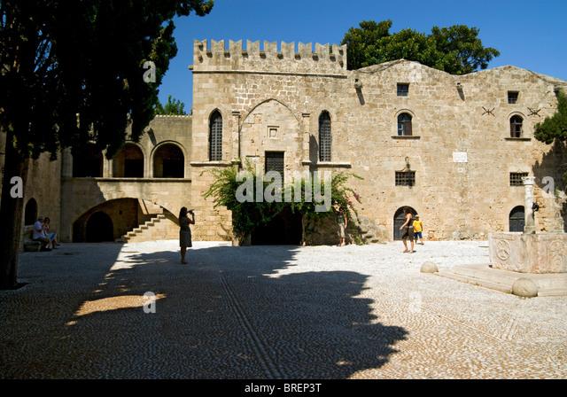 Rhodes Greece Old Town Stock Photos & Rhodes Greece Old ...