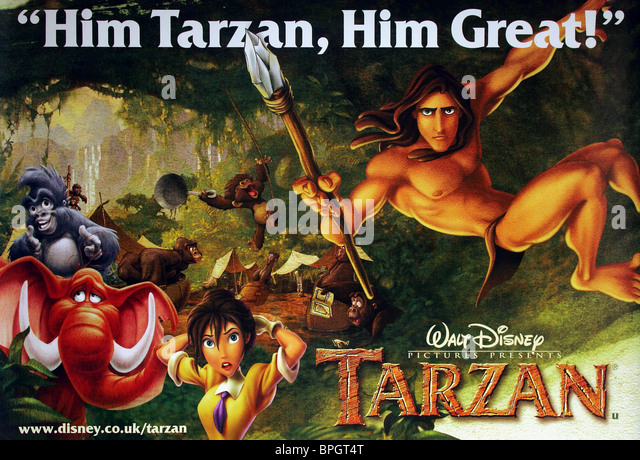 Movie Posters 1999: Tarzan 1999 Stock Photos & Tarzan 1999 Stock Images