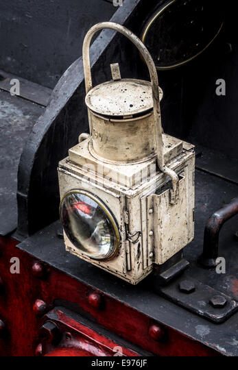 Railway Engine Oil Lamp Stock Photos Railway Engine Oil