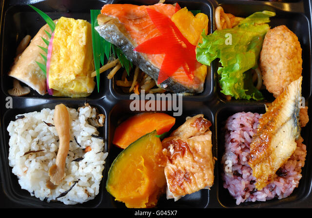 japanese bento box stock photos japanese bento box stock images alamy. Black Bedroom Furniture Sets. Home Design Ideas