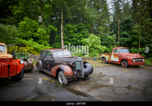 8 cylinder stock photos 8 cylinder stock images alamy for American restoration cars for sale