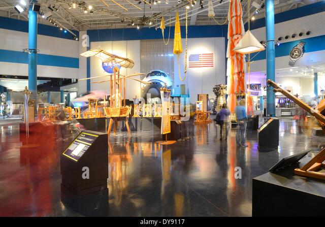 Foyer Museum Usa : Nasa museum stock photos images alamy