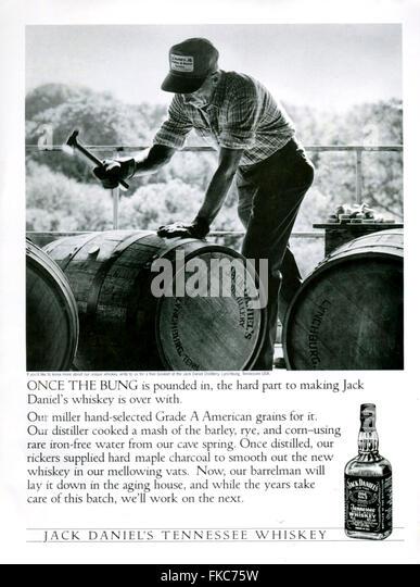 s usa jack daniels magazine stock photos s usa jack 1990s usa jack daniel s magazine advert stock image