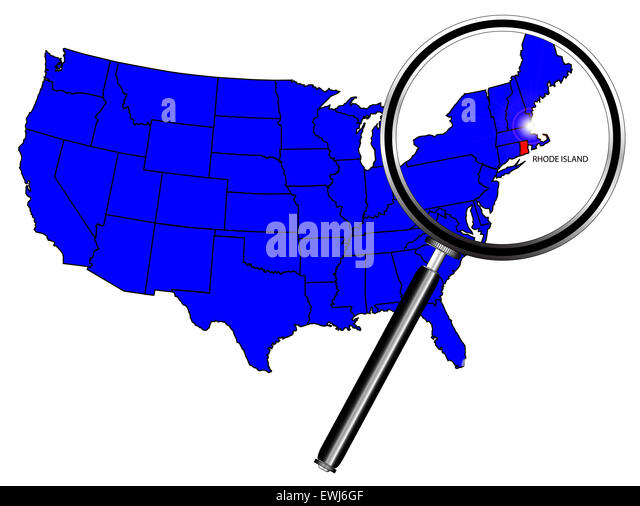 rhode island map outline