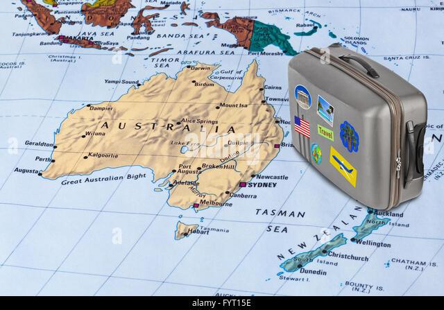 Tourist Map Australia Photos Tourist Map Australia – Travel Map of Australia