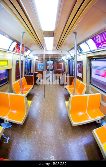 new york city subway car stock photos new york city subway car stock images alamy. Black Bedroom Furniture Sets. Home Design Ideas