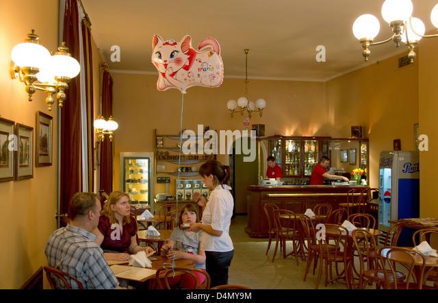 Waitress Coffee Eastern Europe Stock Photos & Waitress ...