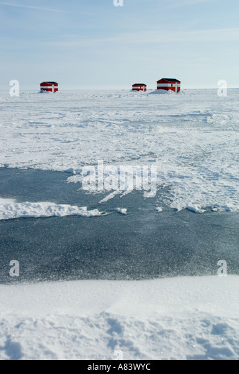Mille lacs stock photos mille lacs stock images alamy for Lake mille lacs ice fishing