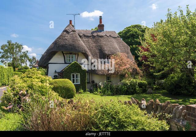 West Hagbourne, Oxfordshire, UK - Stock Image