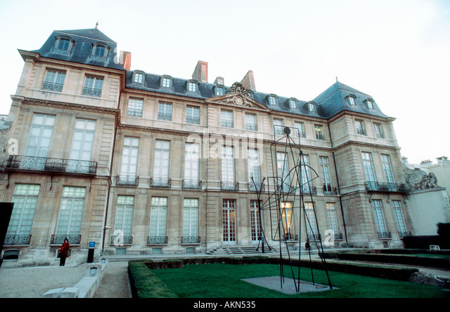 picasso museum paris stock photos picasso museum paris. Black Bedroom Furniture Sets. Home Design Ideas