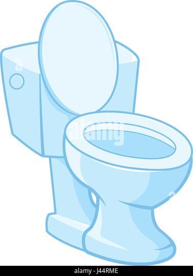 Toilet  Vector illustration on white background   Stock Image. Toilet Vector Vectors Stock Photos   Toilet Vector Vectors Stock