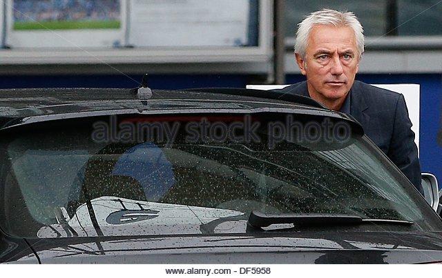 photo of Bert van Marwijk  - car