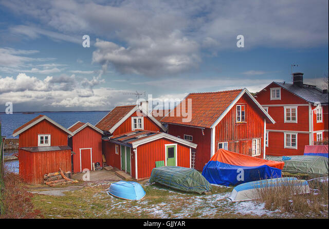 Sommerhauser stock photos sommerhauser stock images alamy for Summer homes builder