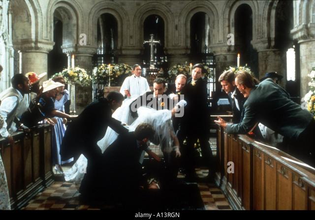 four weddings and a funeral stock photos four weddings