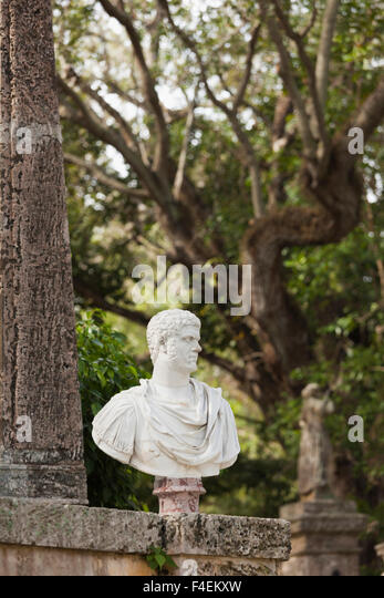Wonderful USA, Florida, Miami Area, Coconut Grove, Vizcaya Museum And Gardens,