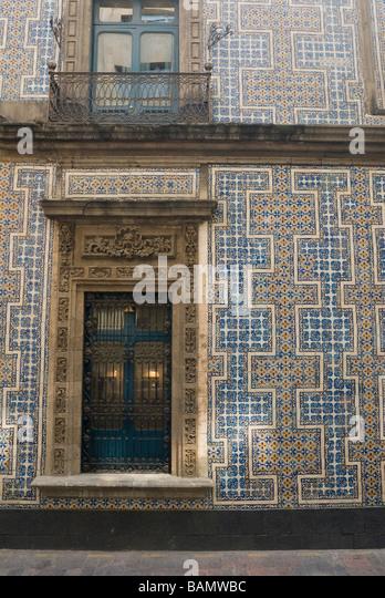 Talavera tile stock photos talavera tile stock images for Casa de los azulejos centro historico