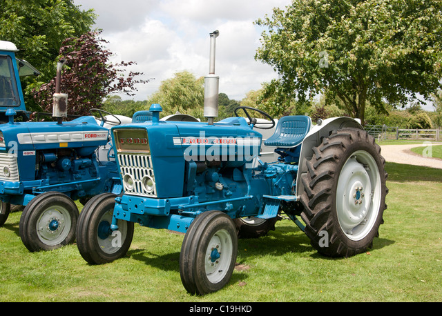 Ford Tractor And Ford Major Tractor Background C Hkd