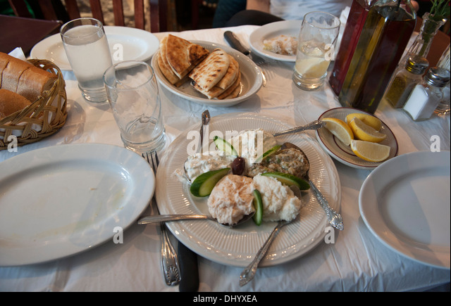 Queens restaurant new york stock photos queens for Astoria greek cuisine