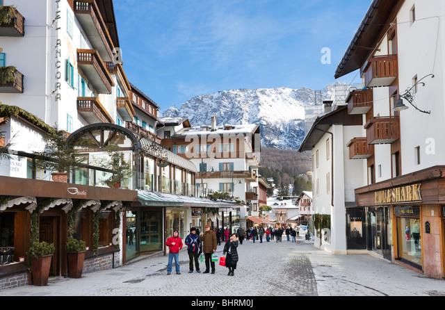 Centre Ville Cortina D Ampezzo
