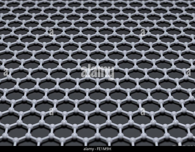 Graphene Model Nanotechnology Stock Photos & Graphene ...