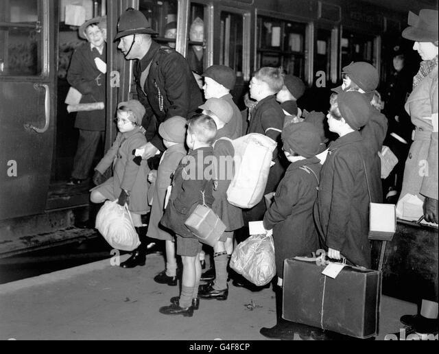 the evacuation of children in world Civilian evacuation to devon in the civilian evacuation during world war two was a remarkable event in the children had been sent had evacuation been such.