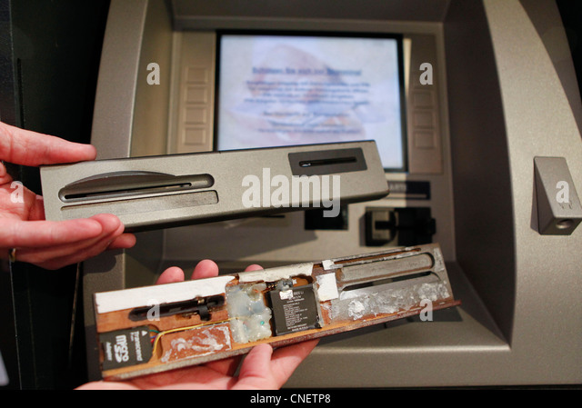 credit card theft machine