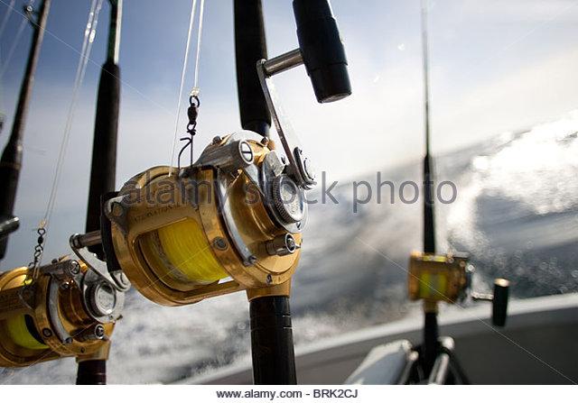 deep sea fishing stock photos & deep sea fishing stock images - alamy, Reel Combo