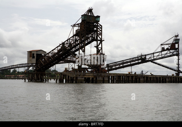 Iron ore mining in west africa