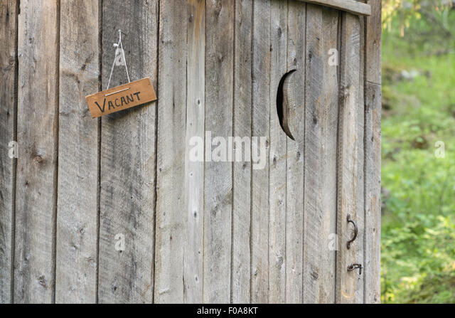 Outhouse door at the Minam River Lodge in Oregon\u0027s Wallowa Mountains. - Stock Image & Door Of An Outhouse Stock Photos \u0026 Door Of An Outhouse Stock ... Pezcame.Com