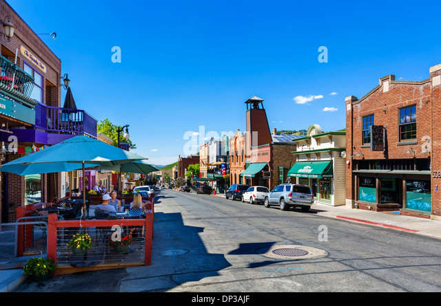 Park city utah summer stock photos park city utah summer - No name saloon and grill park city ut ...