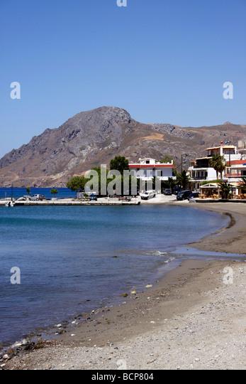 Beach plakias crete greek island stock photos beach for Ocean isles fishing village