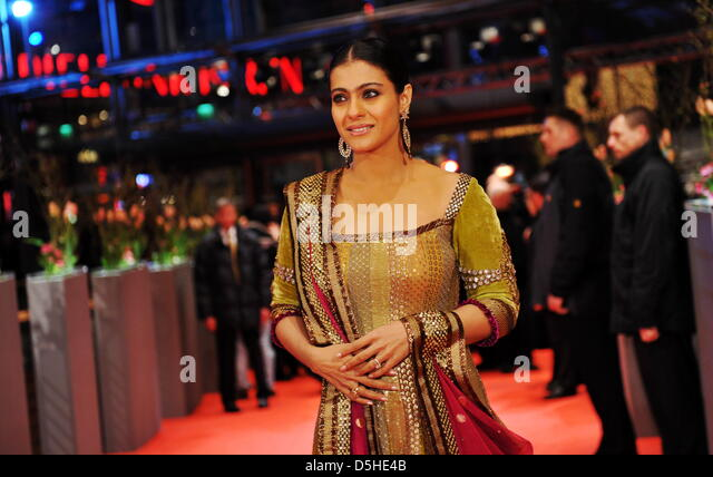 Indian Actress Kajol Devgan Arrives For The Premiere Of Film My Name Is Khan