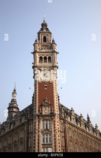 Lille france old town stock photos lille france old town for Chambre de commerce de france