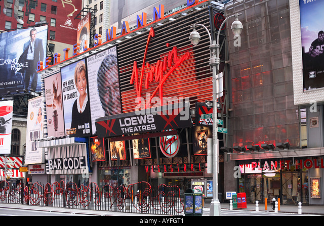 Virgin records new york times square
