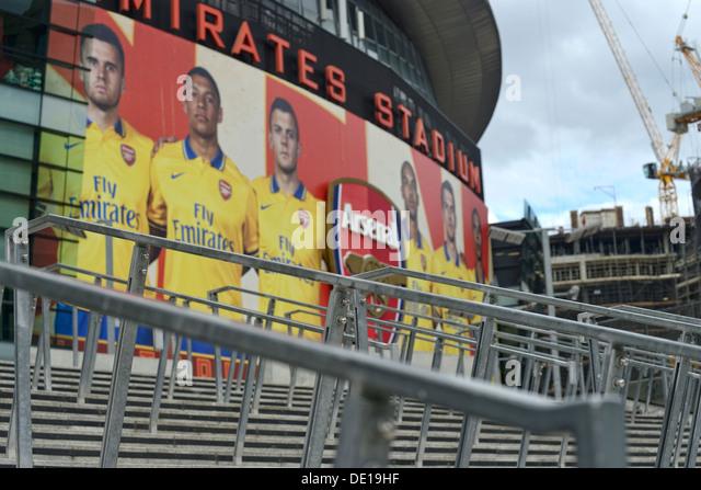 Football stadium billboard stock photos football stadium for Mercedes benz stadium box office hours