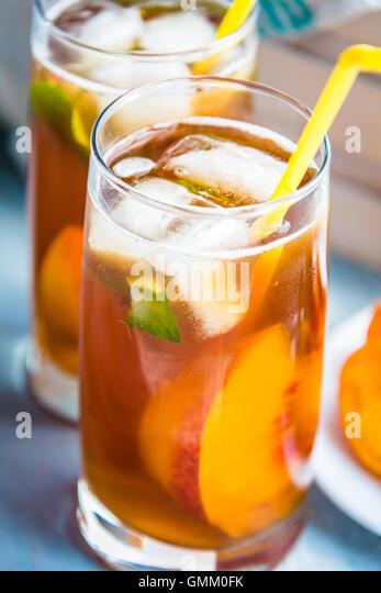 how to make homemade peach tea