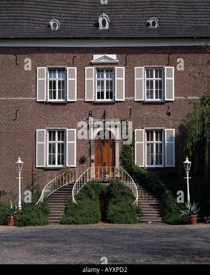 schloss lauersfort moers nordrhein westfalen deutschland. Black Bedroom Furniture Sets. Home Design Ideas