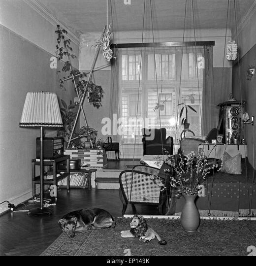 Wohnzimmer black and white stock photos images alamy for Einrichtung wohnzimmer