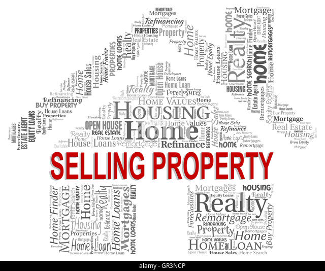 Selling Property Meaning Real Properties Stock Photos & Selling ...